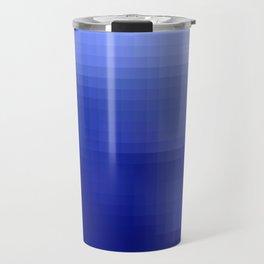 Pixel Gradient Travel Mug