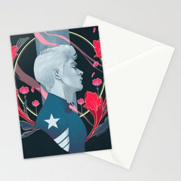 It's a cold and it's a broken Hallelujah Stationery Cards