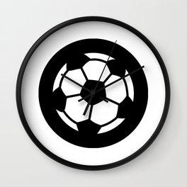 Soccer Ideology Wall Clock