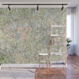 Autumn Pastels Woods Wall Mural