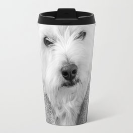 I hate Mondays Westie Dog Travel Mug