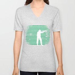 Huntsman Tshirt Retro Style Unisex V-Neck