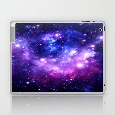 Purple Blue Galaxy Nebula Laptop & iPad Skin