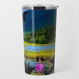Alaska Outline - God's Country Travel Mug