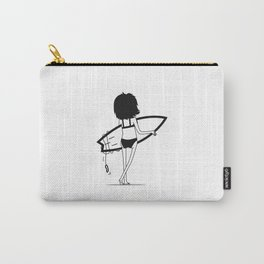 Surf chick Carry-All Pouch