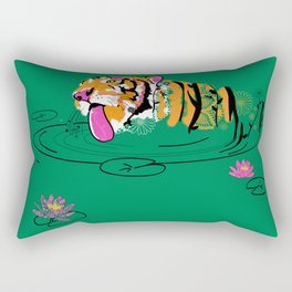 Tigar Lily Rectangular Pillow