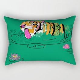 Tigar Lily Rectangular Pillow