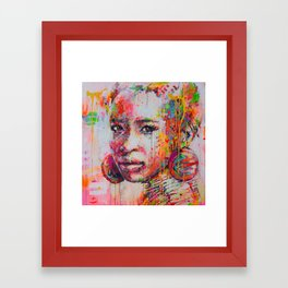 yaoo Framed Art Print