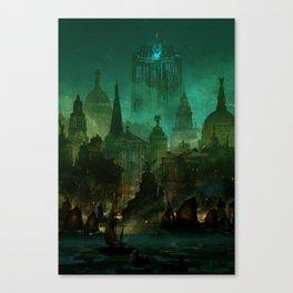Angelwatch Canvas Print