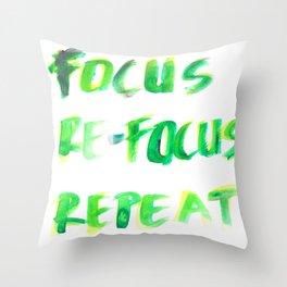 150226 Typography 29 Throw Pillow
