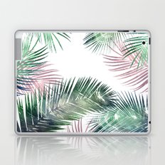 tropical leaves 2 Laptop & iPad Skin