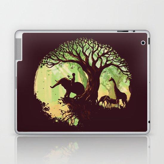 The jungle says hello Laptop & iPad Skin
