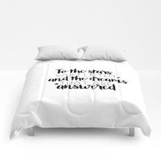 to the stars who listen (MUG LEFT) Comforters