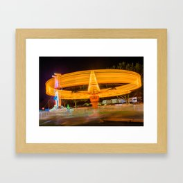 The Spinner Framed Art Print