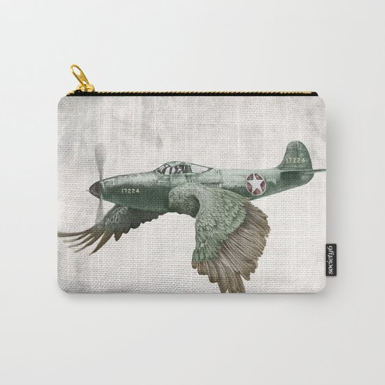 In which it's a bird. It's a plane. (Now in technicolour) Carry-All Pouch