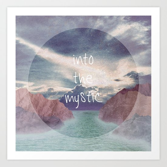 Into the Mystic (ANALOG zine) Art Print