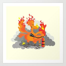 Year of the Phoenix Art Print