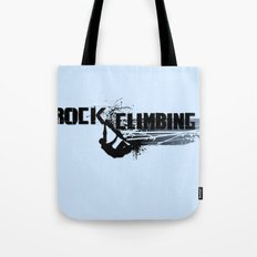 Rock Climbing - Male Tote Bag