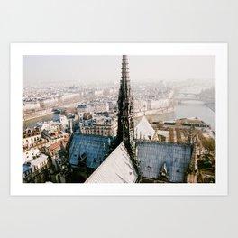 Spire - film Art Print