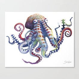 Octopus Canvas Print