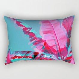 3D Banana Jungle Rectangular Pillow