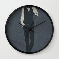 durarara Wall Clocks featuring Shizuo Heiwajima by JHTY