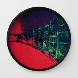town_pt.1-4 Wall Clock