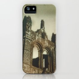 Kirkstall Abbey Polaroid iPhone Case