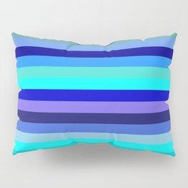 blue kind and latte Pillow Sham