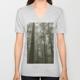 Memories of the Future - nature photography Unisex V-Neck