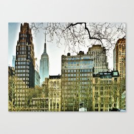 The view from Bryant Park Canvas Print