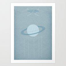Ast Colit Astra | QUADRIVIUM - MINIMALIST POSTER Art Print