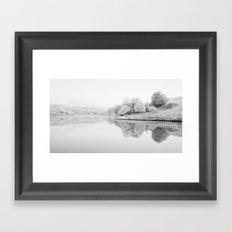 River Usk, Newport Framed Art Print