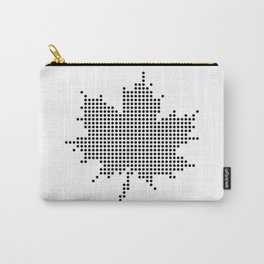 Maple Leaf BW Carry-All Pouch