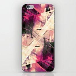 Future Punk - Geometric Abstract Art iPhone Skin