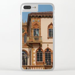 Architecture of Ca'D'Zan -House of John Ringling III Clear iPhone Case