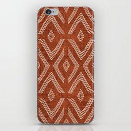 Birch in Rust iPhone Skin