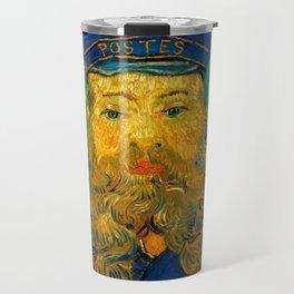 "Vincent van Gogh ""Portrait of Joseph Roulin"" Travel Mug"