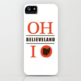 Believeland iPhone Case