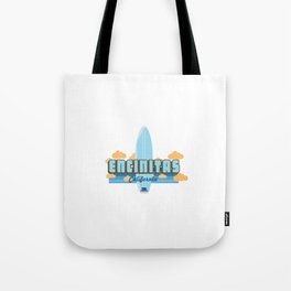 Encinitas - California. Tote Bag