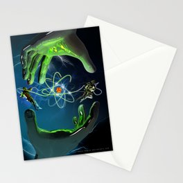 The Atom Control Stationery Cards