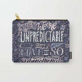 Unpredictable Carry-All Pouch