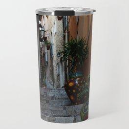 Alley in Sicily Travel Mug