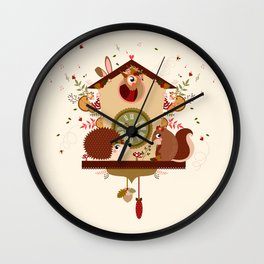 Coucou sauvage Wall Clock