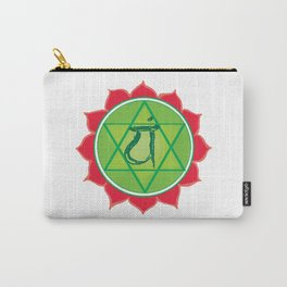 Anahata Heart Green Chakra Carry-All Pouch