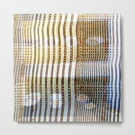 Combed Texture II Metal Print