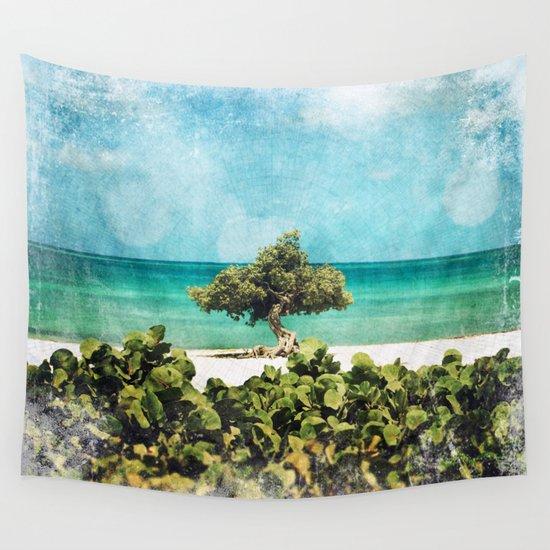Divi Divi Tree of Life Wall Tapestry