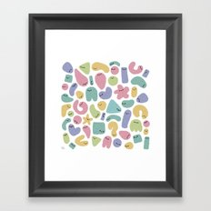 Germs Framed Art Print
