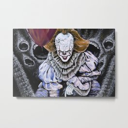 IT Clown Metal Print