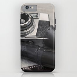 Vintage Camera and Film iPhone Case